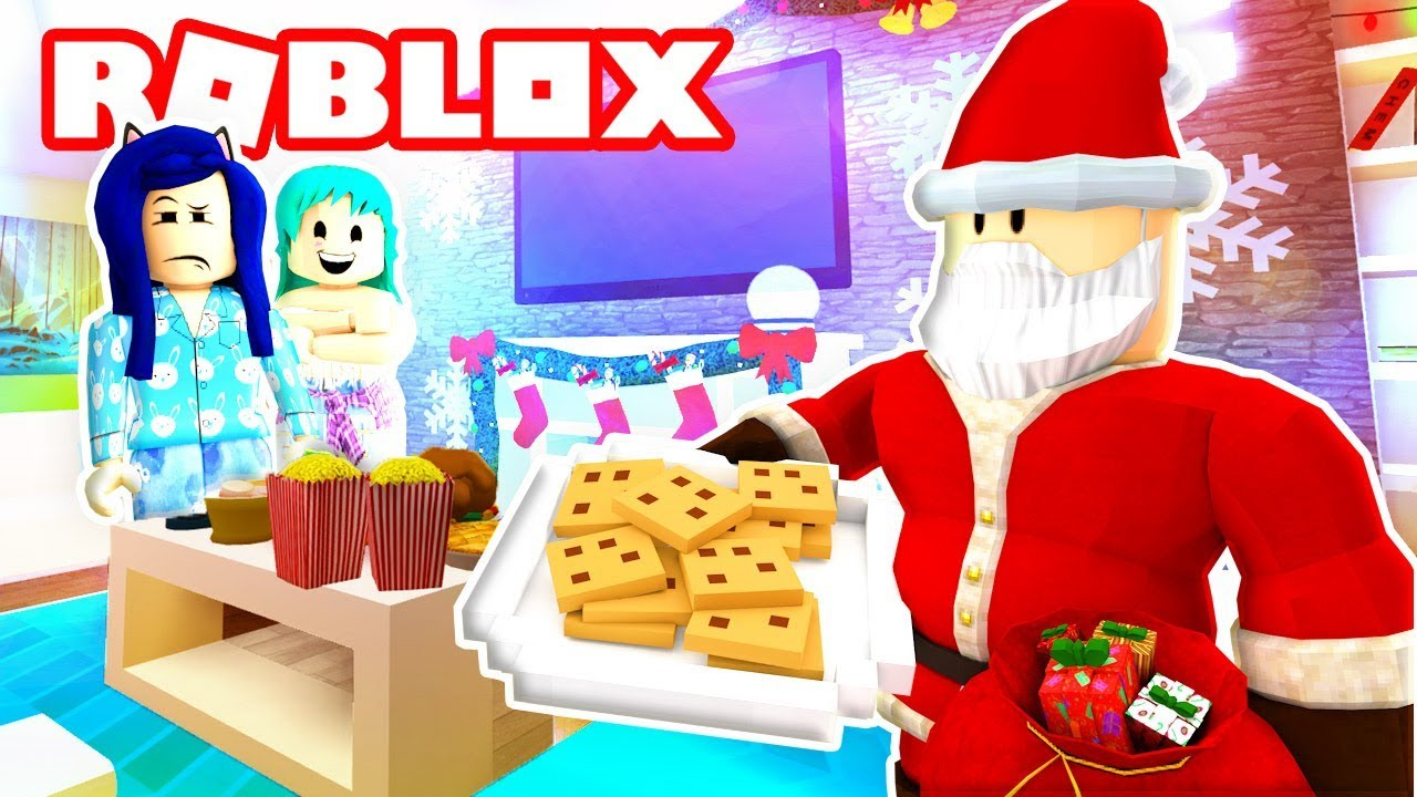 Itsfunneh Videos Roblox Family Bloxburg Roblox Family Is Roblox Santa Real We Try To Catch Him Roblox Roleplay Youtube