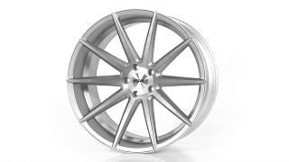 TSW Alloy Wheels - Clypse in Titanium w/ Matte Brushed Face
