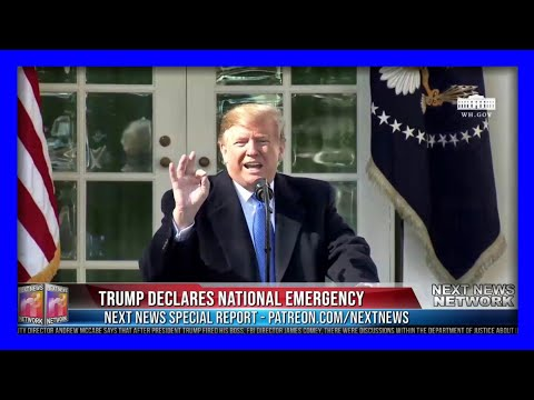 WATCH Trump Spar With HATESTREAM Media After Declaring National Emergency