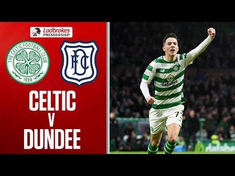 Celtic 3-0 Dundee   Johnston Nets Twice in Comfortable Win   Ladbrokes Premiership