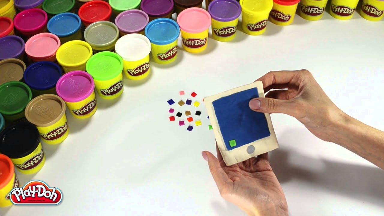 Пластилин Play Doh. Делаем сами) как сделать пластилин плей до в 96