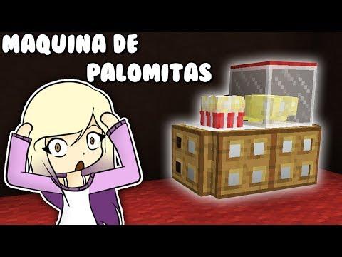 NO CREERÁS ESTA CONSTRUCCIÓN SECRETA DE MINECRAFT **MAQUINA DE PALOMITAS** | Survival con Lyna 2 thumbnail