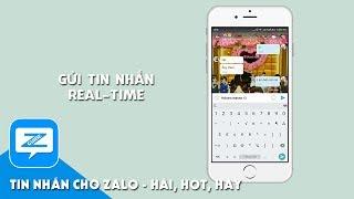 Hướng dẫn Zalo - Gửi tin nhắn real time