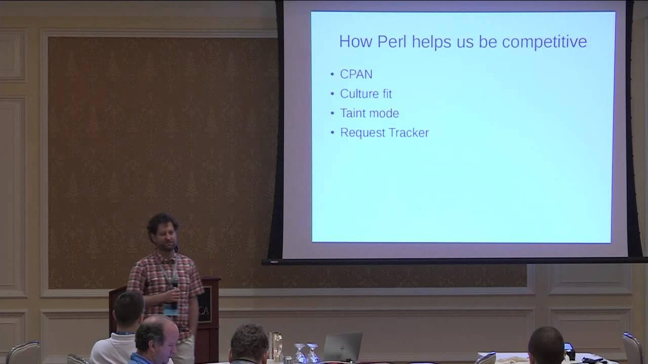 Ivan Kohler How Perl helped us make a million dollars - YouTube