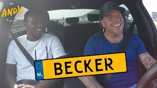 Sheraldo Becker - Bij Andy in de auto