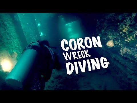 CORON PALAWAN   WRECK DIVING IN GHOST SHIPS