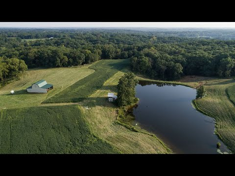 Home On 80 Acres For Sale In Adams County, IL (Hunting And Fishing Right Out Your Door)