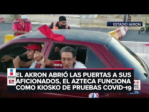 Dos realidades en el estadio Azteca y el Akron