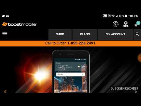 LG Tribute Dynasty on sale now on Boost Mobile website