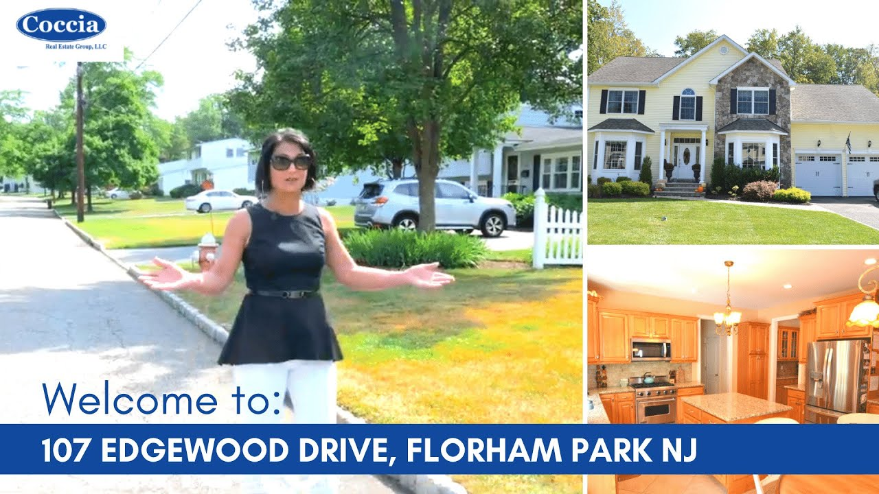 Homes for Sale Florham Park NJ | 107 Edgewood Drive | Morris County