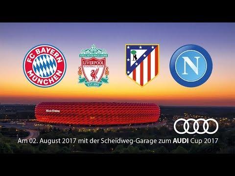 Audi Cup: Atletico Madrid VS Napoli LIVE