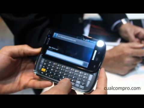 CES Las Vegas 2011 - Samsung Galaxy S - Epic 4G