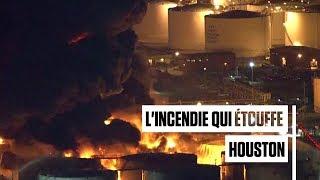 Texas : le gigantesque incendie d'un complexe pétrochimique fait suffoquer Houston