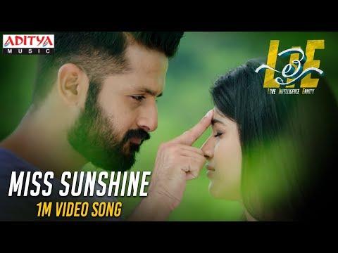 Miss Sunshine 1Min Video Song - #LIE Movie - Nithiin, Arjun, Megha Akash | Hanu Raghavapudi