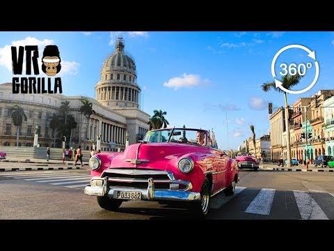 Travel Cuba In 360 Degrees VR - Episode 2: Havana