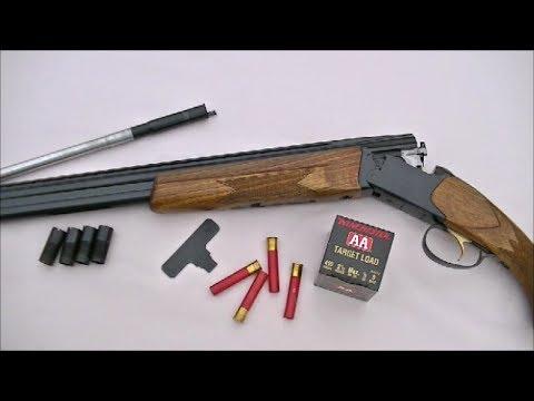 """Pattern Testing the Savage """"Four Tenner"""" .410 Shotgun ...  Pattern Testing..."""