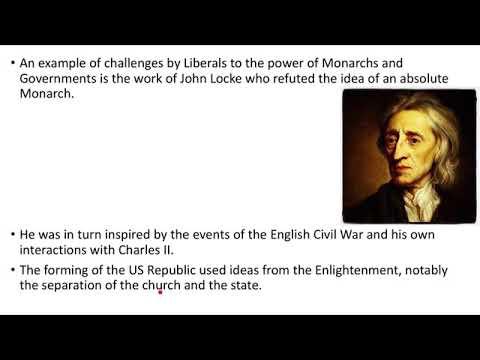 The Origins of Liberalism