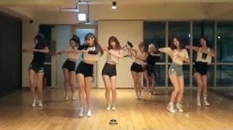 9MUSES 'Hurt Locker' mirrored Dance Practice