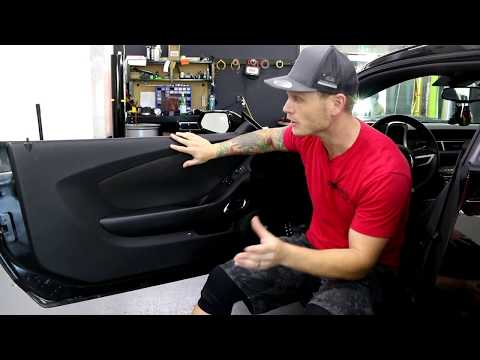 HOW TO REMOVE INSIDE DOOR PANEL ON A CAMARO