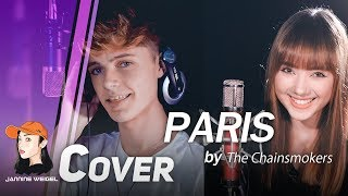 Download The Chainsmokers - Paris cover by Jannine Weigel, Harvey MP3 song and Music Video
