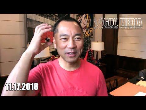 郭文贵:11月20号的新闻发布会进展报告,遇到了巨大的困难,但是一定会照常进行。