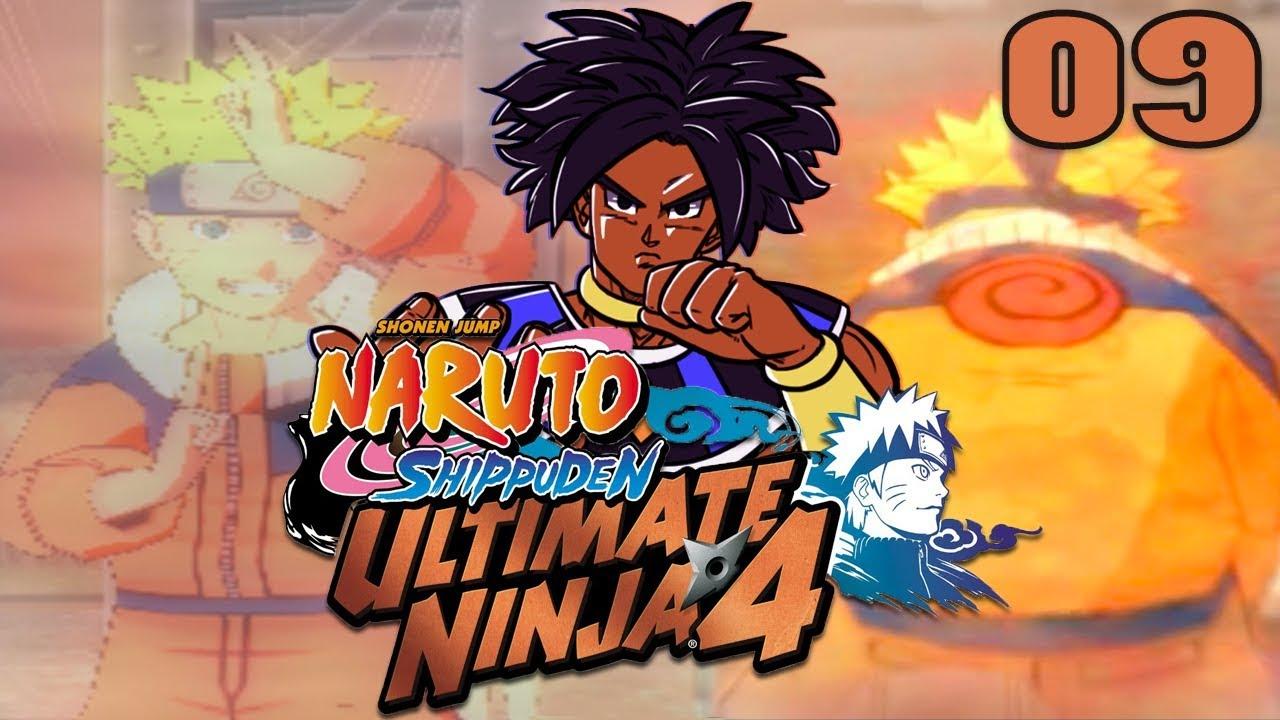 PART 1 NARUTO GANG! - Naruto Shippuden: Ultimate Ninja 4 [Hero Mode] |  Episode 9