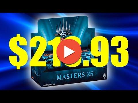$216.93 EV Masters 25 - Magic the Gathering Booster Box