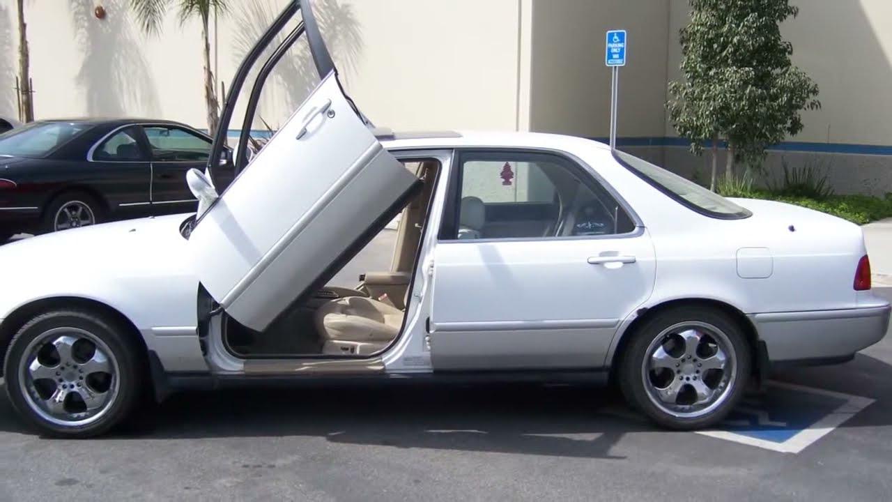 ACURA LEGEND DR Vertical Lambo Doors VDCAL YouTube - Acura legend 1991