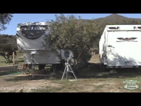 full hookup campgrounds california