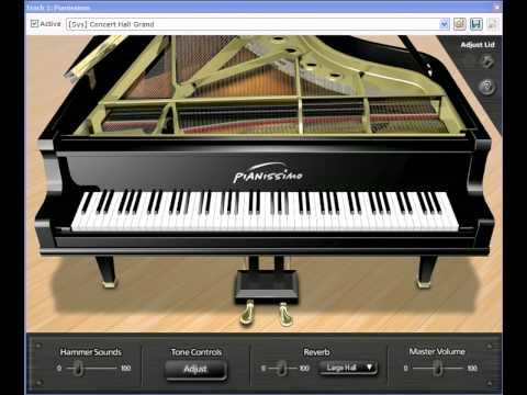 Virtual Grand Piano | Pianissimo | Acoustica