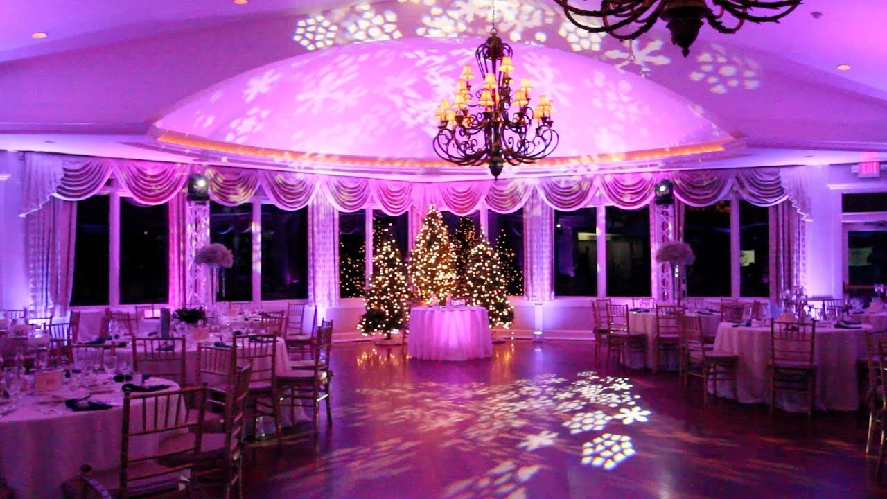OceanCliff Newport RI Winter Theme Wedding  New Years Eve