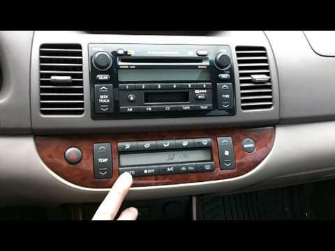5114 2002 Toyota Camry Xle V6 Black 33k