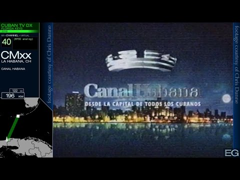 TV DX from South Florida 3: Cuba 2005-2016