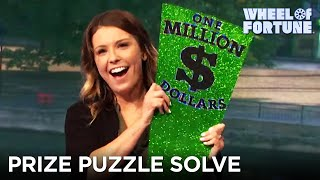 Mackenzie Is Smiling After This Prize Puzzle Round | Wheel of Fortune