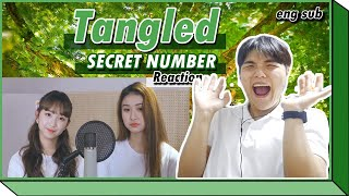 SECRET NUMBER - Tangled COVER - Korean REACTION