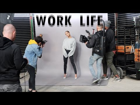 A WEEK IN MY WORK LIFE VLOG: EP Promotion