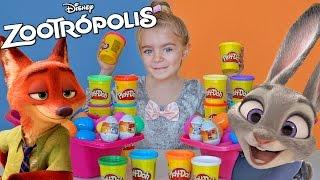 ZOOTROPOLIS - Pay Doh (huevos sorpresa)