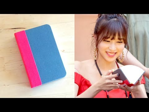 """The Book I Gave Mina At TWICE's """"Summer Nights"""" Fansign"""