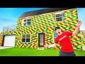 I Built A REAL Lego House! LIFE SIZE