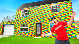 Download I Built A REAL Lego House! LIFE SIZE