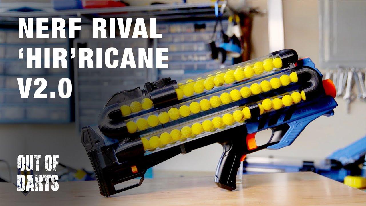Mod Hirricane V20 Nerf Rival Zeus Mod Youtube