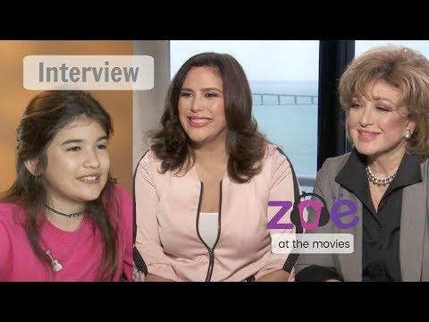 """ENTREVISTA Angélica Vale y Angélica Maria en """"Zoe at the Movies"""" (Español)"""