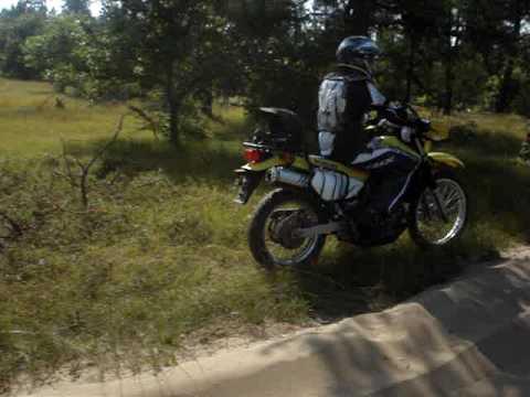 2006 Suzuki dr 650  on trail (august 2009)