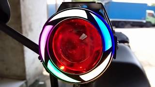 Video CARA PASANG LAMPU SOROT    TEMBAK LED CREE U7 TRANSFORMERS RAINBOW    PELANGI DI MOTOR  #Motovlog download MP3, 3GP, MP4, WEBM, AVI, FLV September 2018