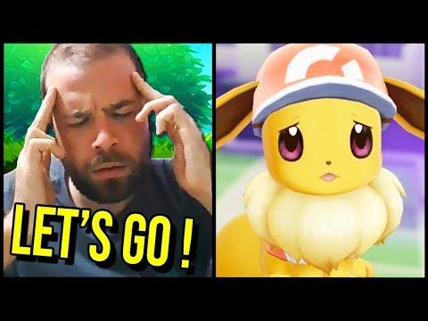 CE JEU EST... DUR ?? POURQUOI JE GALÈRE ? - Pokémon LET'S GO!