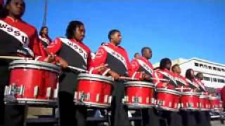 WSSU Red Sea of Sound Drumline H20: Sankofa