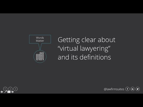 What is a Virtual Law Office?