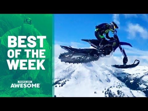 Best of the Week: Snowmobiles, Skateboarding & Dance Moves | People Are Awesome