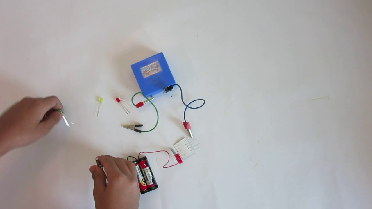 ONNOROKOM SCIENCE BOX (AMAZING ELECTRICITY) EXPERIMENT01 CHANGE OF ...