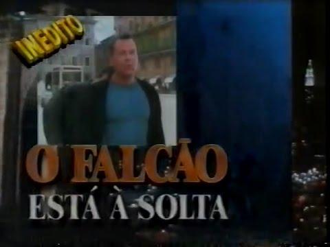 Hudson Hawk - O Falcão Está à Solta (1991) - Chamada Tela Quente Inédito - 23/05/1994